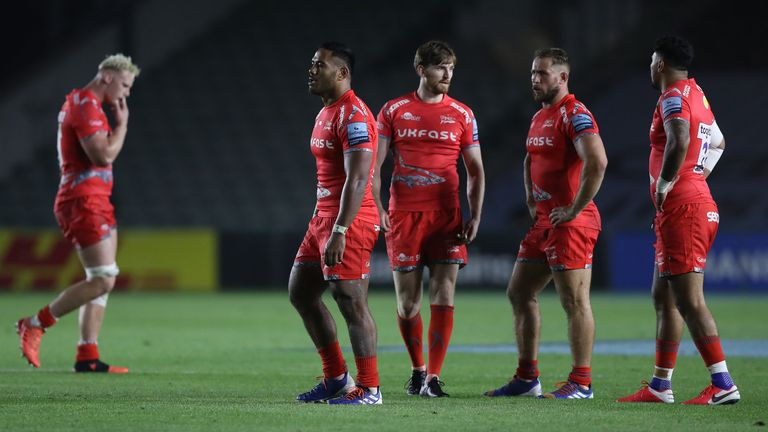 Sale were pinged off the park against Harlequins