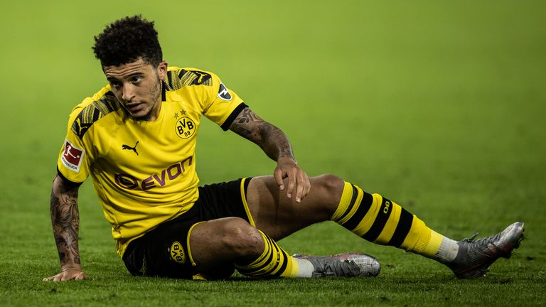 Manchester United remain unhappy with Borussia Dortmund's asking price for Jadon Sancho