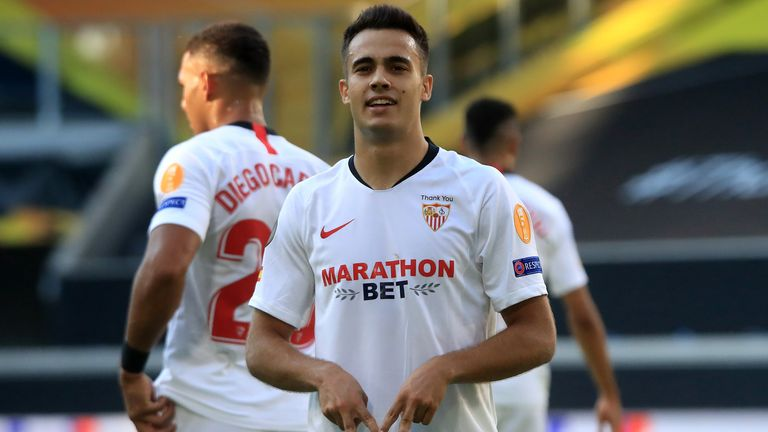 Sergio Reguilon was voted the best left-back in La Liga in 2019/20