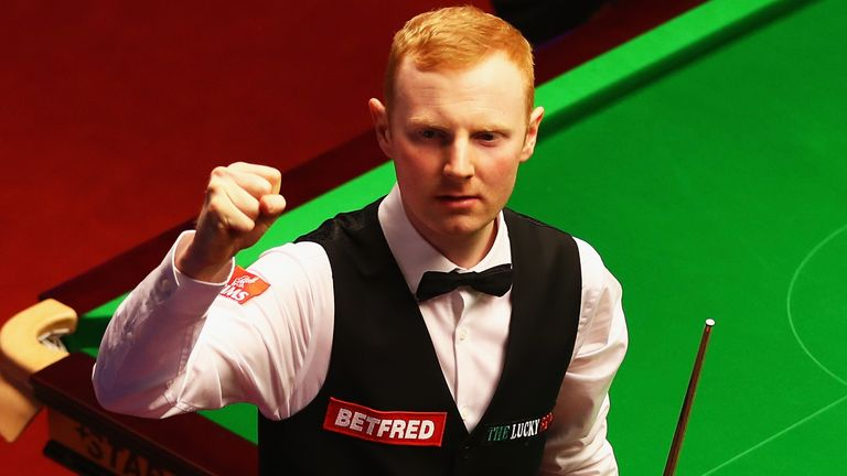 Anthony McGill accused Jamie Clarke of deliberately standing in his eyeline during play
