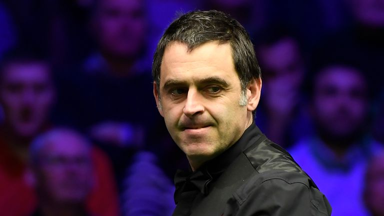 Ronnie O'Sullivan record an average shot-time for the session of just 13.41 seconds