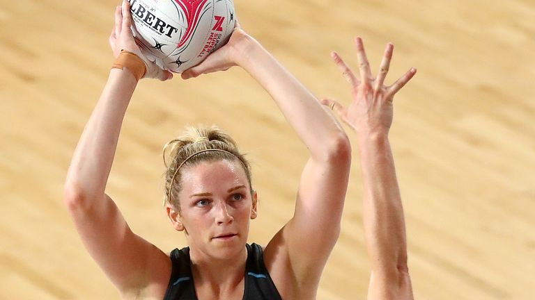 Jo Harten and a number of England's Vitality Roses took to court in Australia