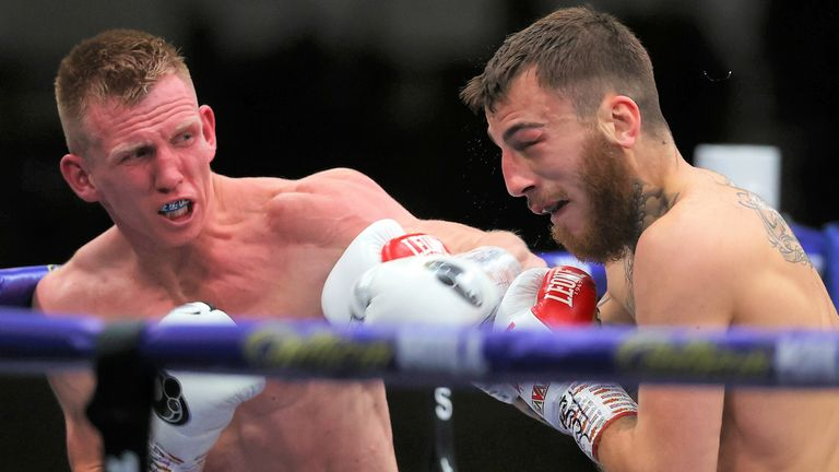Ted Cheeseman claimed a unanimous decision win over Sam Eggington