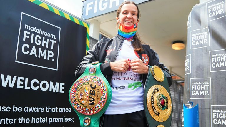 World champion Terri Harper has given her backing to Stonewall