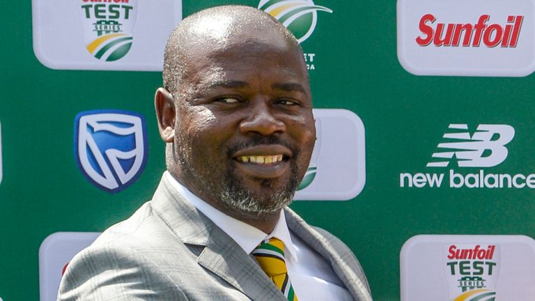 Thabang Moroe was sacked as Cricket South Africa chief executive in August