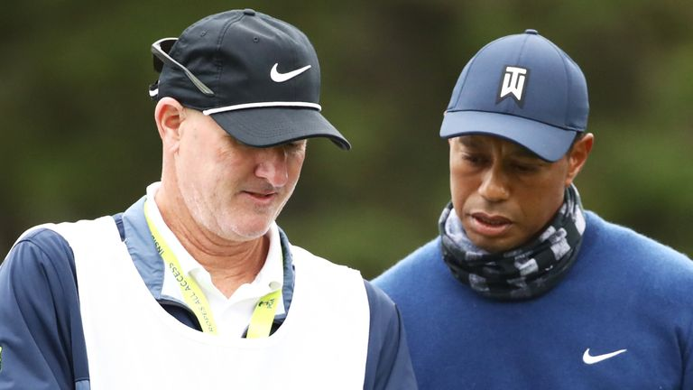 Tiger Woods was playing only his second event back since golf's coronavirus-enforced stoppage