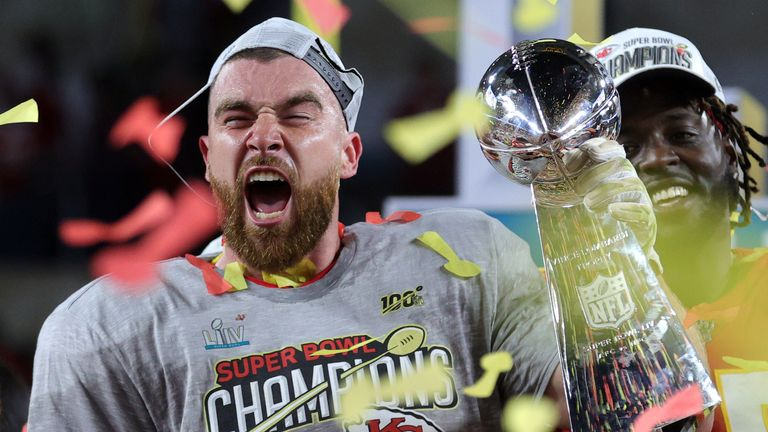 Travis Kelce starred for the Chiefs on the road to Super Bowl LIV
