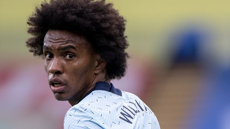 Willian has passed his medical at Arsenal