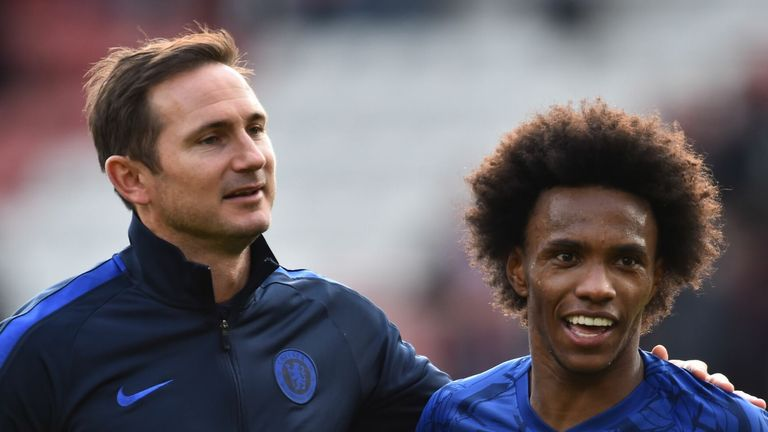 Willian looks set to leave Chelsea as a free agent this summer
