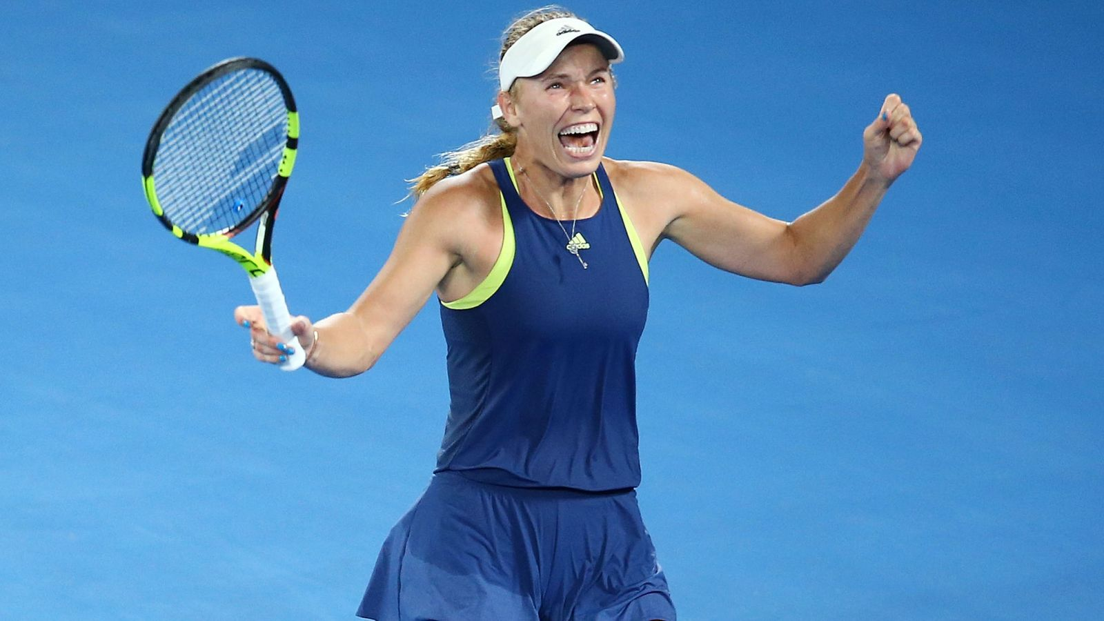 Liverpool fan Caroline Wozniacki delighted by Reds' title success