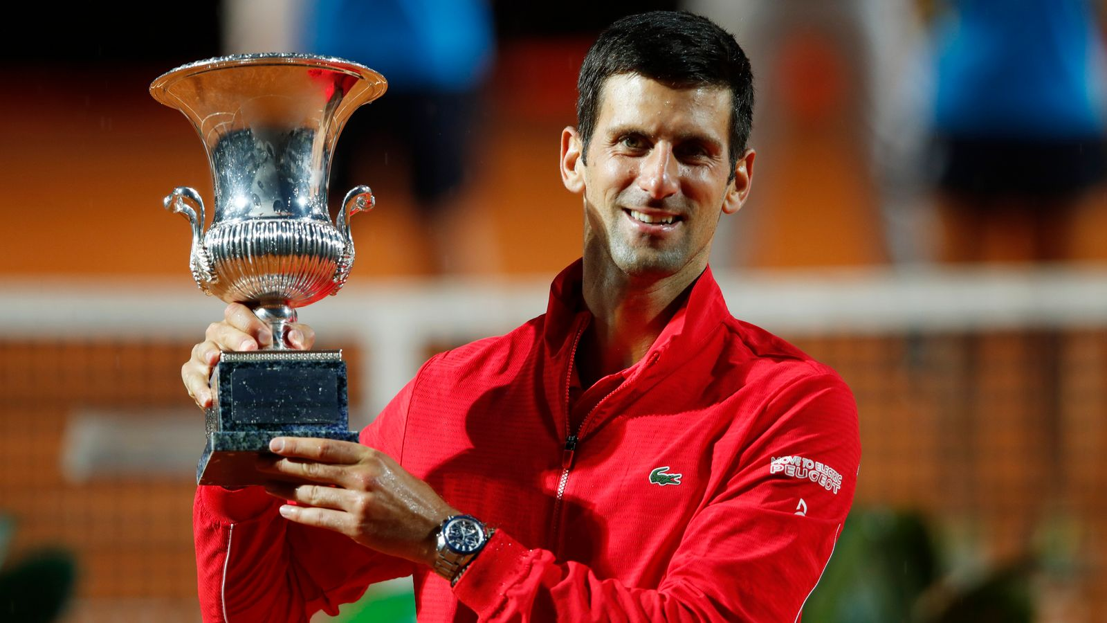 Novak Djokovic wins Italian Open in Rome for fifth time ...