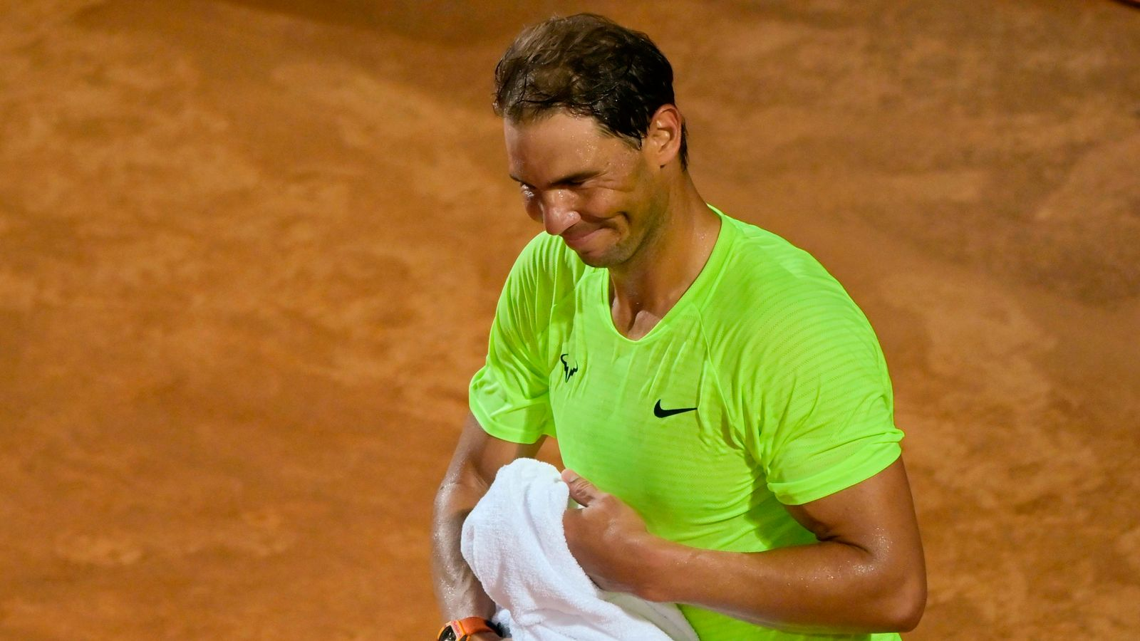Rafael Nadal vows to keep working after shock loss in Rome