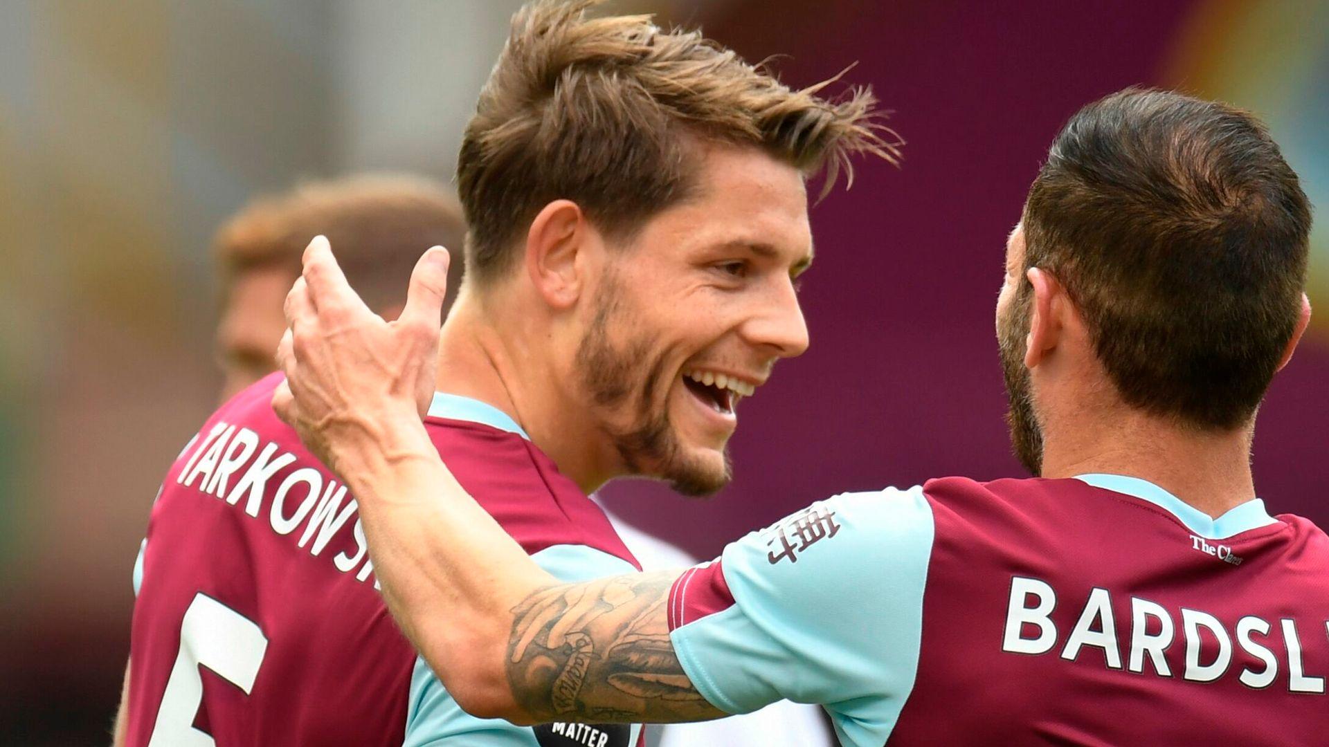Burnley 'won't sell cheap' amid Tarkowski £50m price tag