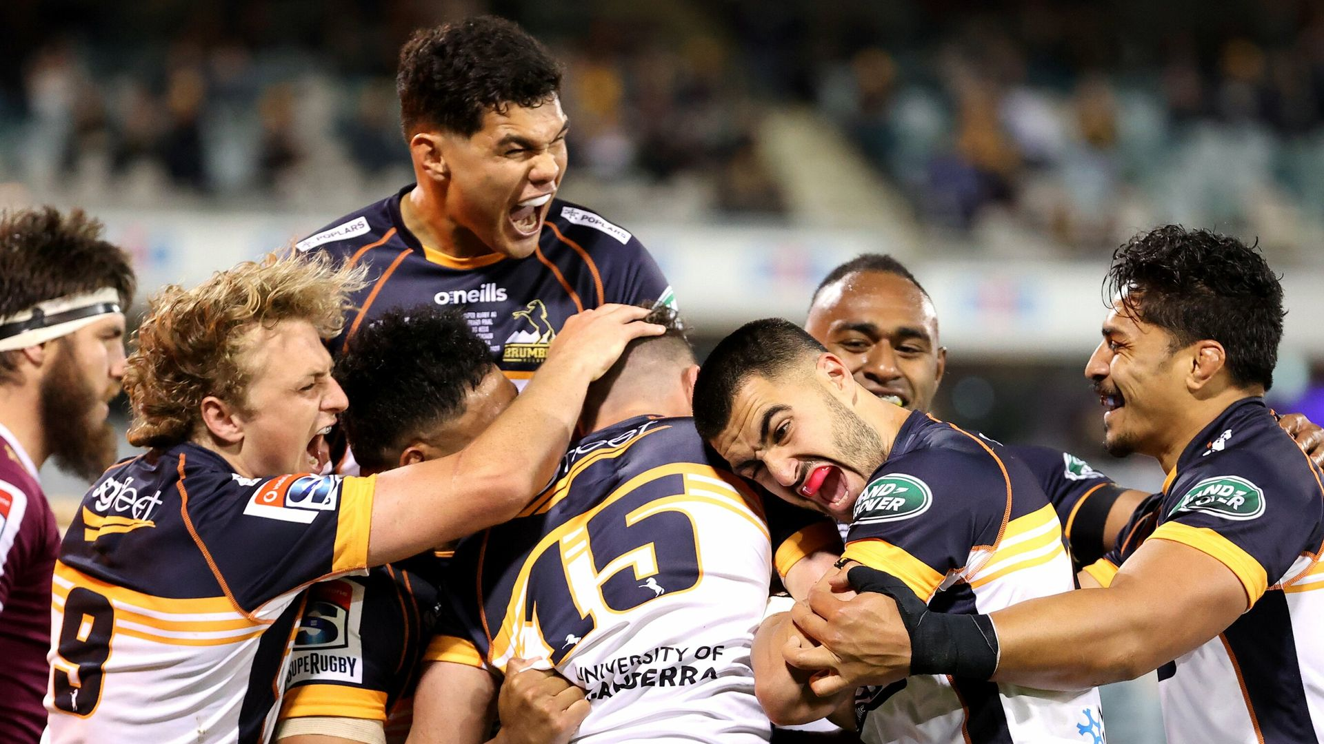 Brumbies hang on to clinch Super Rugby AU title - sky sports