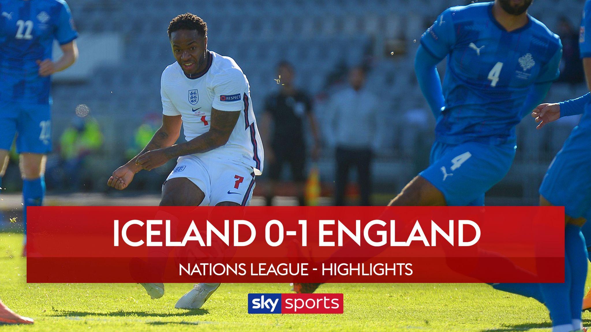 Iceland 0 1 England Video Watch Tv Show Sky Sports