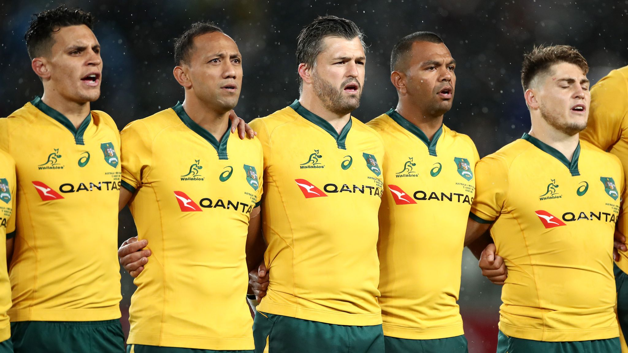 Michael Hooper Will Remain Wallabies Captain Dave Rennie Confirms Rugby Union News Sky Sports
