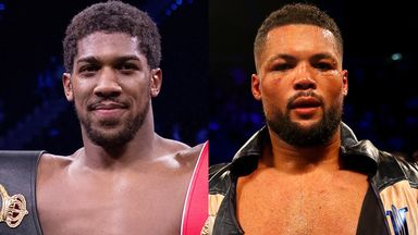 Anthony Joshua and Joe Joyce have sparred hundreds of rounds in the past