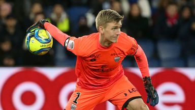 Runar Alex Runarsson made 12 appearances for Dijon last season