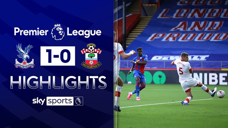 FREE TO WATCH: Highlights from Crystal Palace's win over Southampton