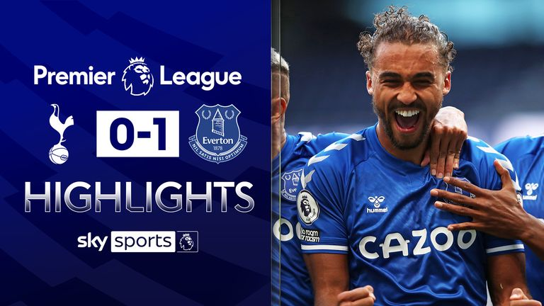 FREE TO WATCH: Highlights from Everton's win over Tottenham in the Premier League