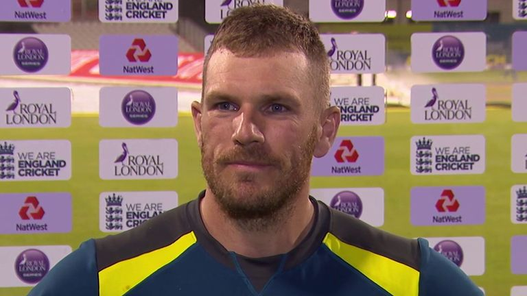 Australia captain Aaron Finch says there are 'no excuses' for his team's dramatic collapse in Manchester