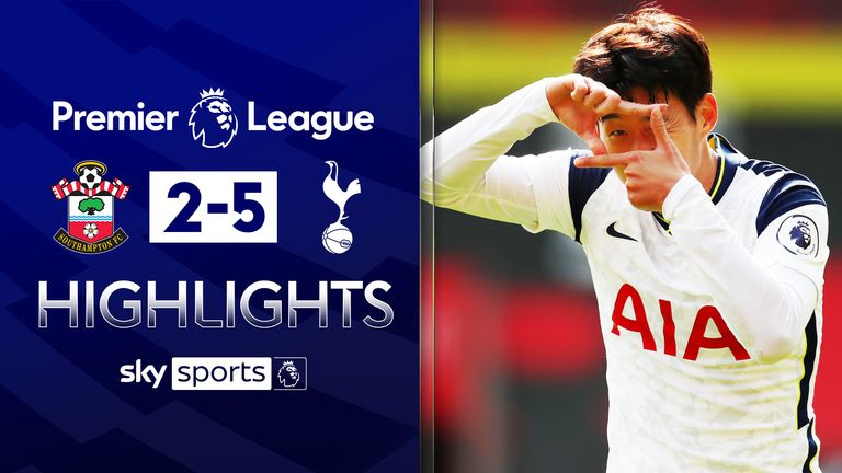 FREE TO WATCH: Highlights from Tottenham's win over Southampton in the Premier League.