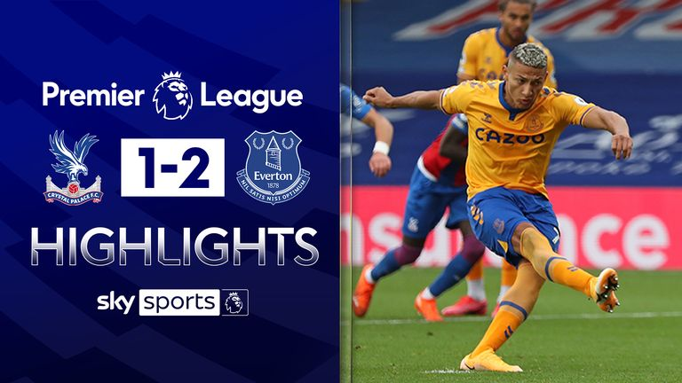 FREE TO WATCH: Highlights from Everton's win at Crystal Palace