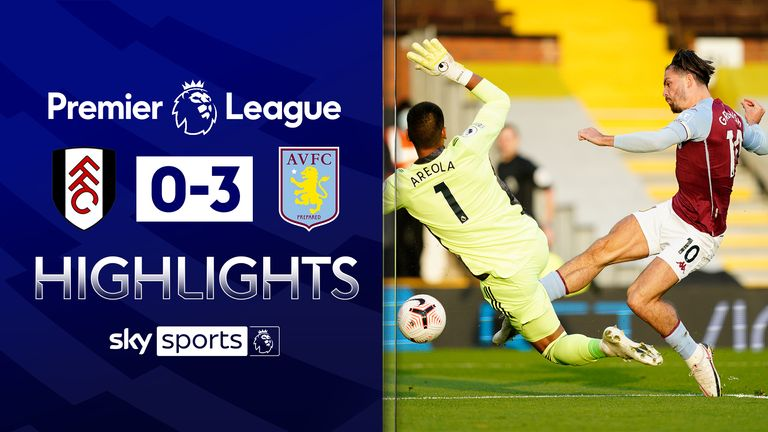 FREE TO WATCH: Highlights from Aston Villa's win against Fulham in the Premier League