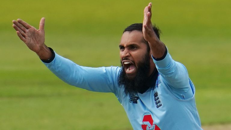 Leg spinner Rashid took 204 wickets for England in limited cricket
