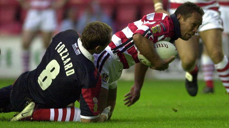 Adrian Lam tasted victory against St Helens several times as a Wigan player