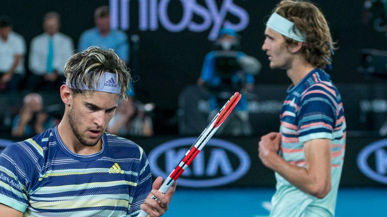 US Open: Dominic Thiem and Alexander Zverev target first ...