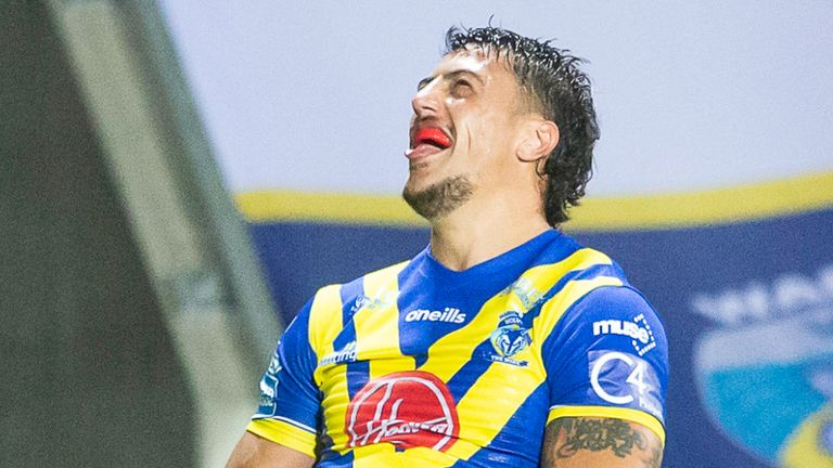 Anthony Gelling's try got Warrington back on level terms