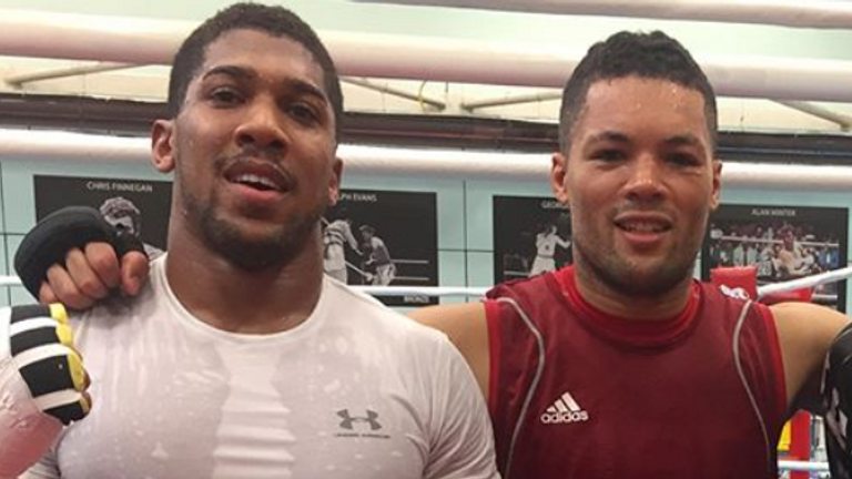 Joshua and Joyce have sparred hundreds of rounds in the past