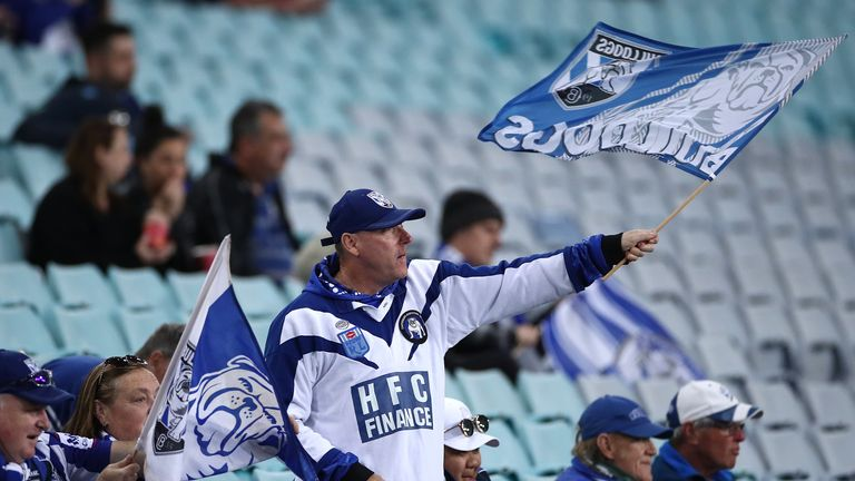 Fans have been able to return to Australian sports events in limited numbers