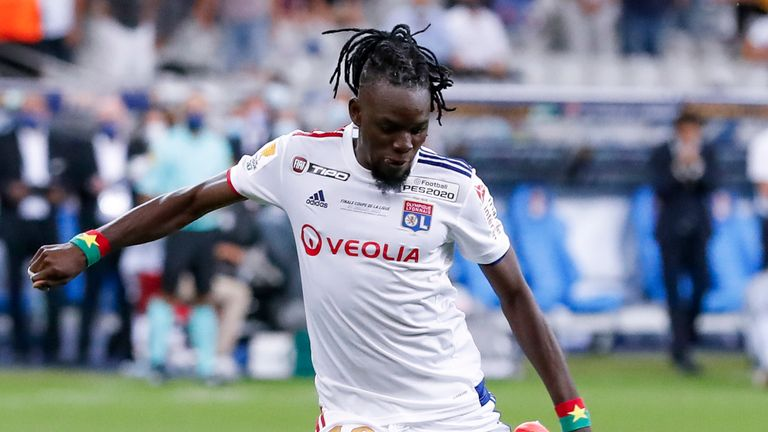 Bertrand Traore has been at Lyon for three years after moving from Chelsea