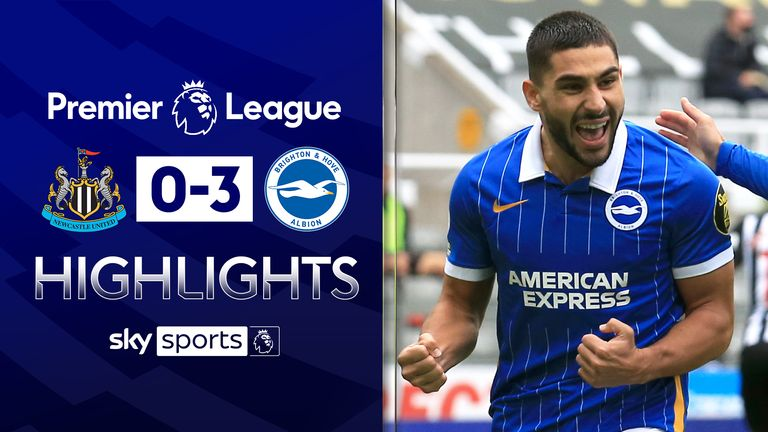 FREE TO WATCH: Highlights from Brighton's win over Newcastle in the Premier League.