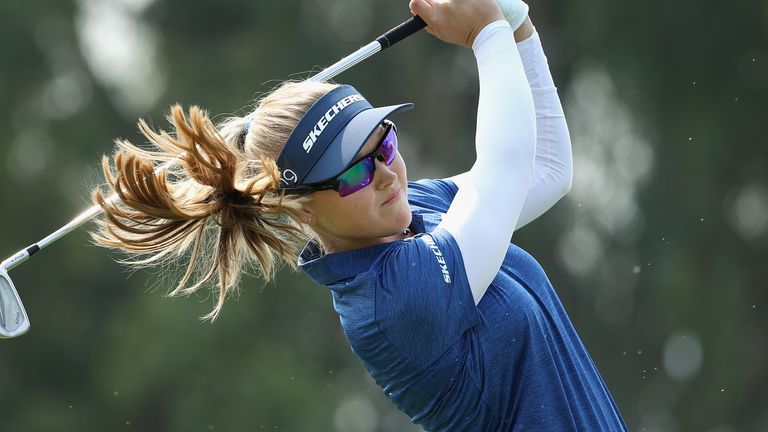 Brooke Henderson also lost out in extra holes
