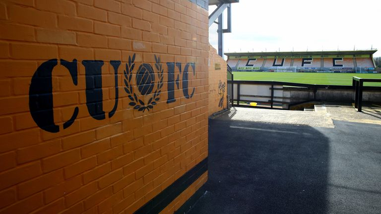 Cambridge United's Abbey Stadium hosted supporters for the club's U21s clash with Fulham earlier this week