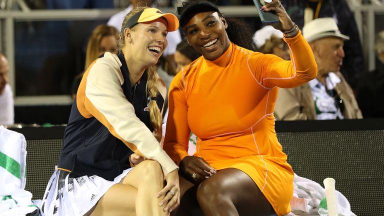 Wozniacki and Serena Williams enjoy a close friendship