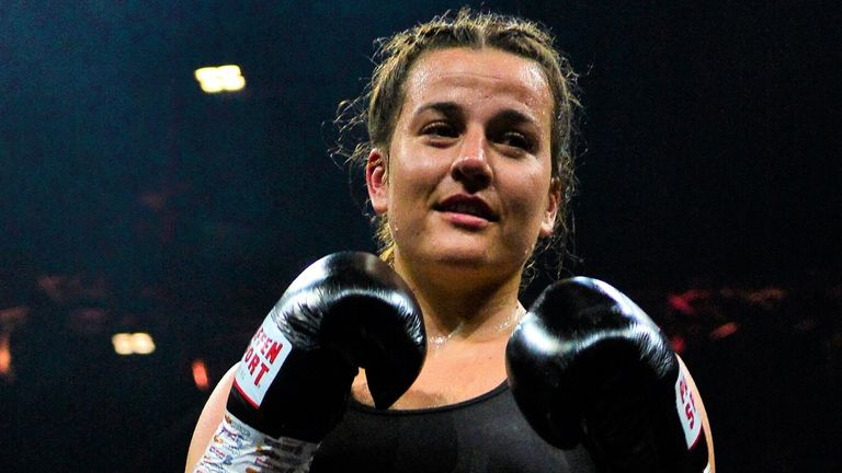 Cameron extended her unbeaten record with victory over Anahi Ester Sanchez