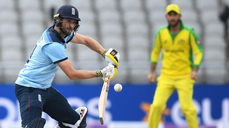 Woakes scored an unbeaten half-century in England's final ODI against Australia