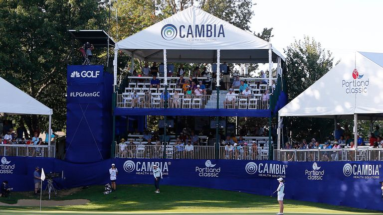Columbia Edgewater Country Club will host the Cambia Portland Classic later this month