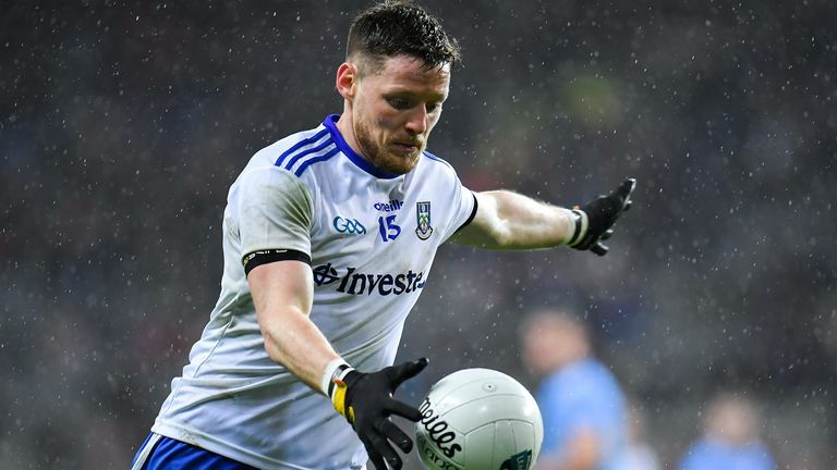 Conor McManus is preparing for Monaghan's intercounty campaign