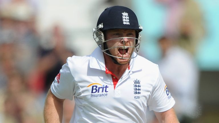 Bell made his highest Test score of 235 against India at The Oval in 2011