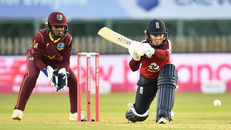 Beaumont top-scored for England with 62 from 49 balls