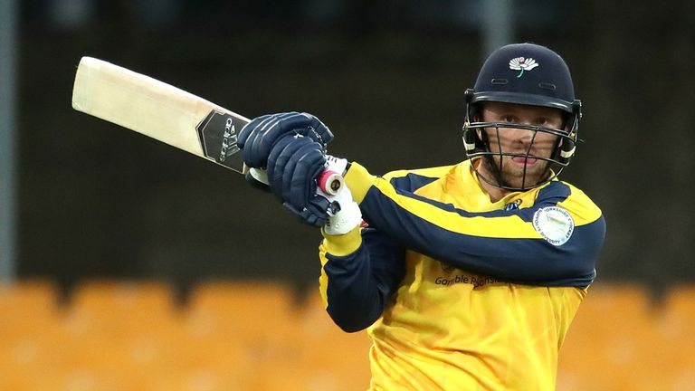Four Yorkshire players, including England's David Willey, will miss the rest of the Vitality Blast group stages after a positive COVID-19 test