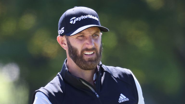 Dustin Johnson has pulled out of the CJ Cup after returning a positive coronavirus test