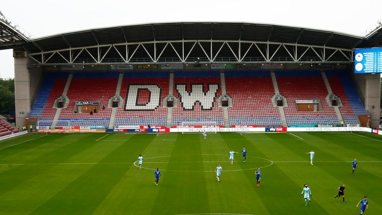 Wigan Athletic are currently in the hands of the administrators