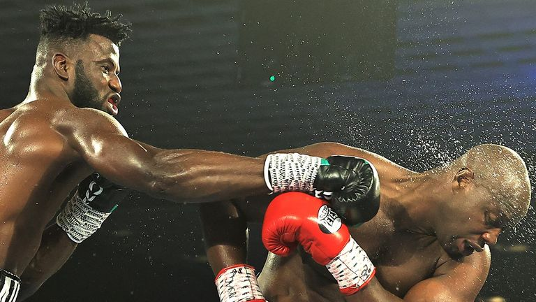 Ajagba is targeting a world heavyweight title fight