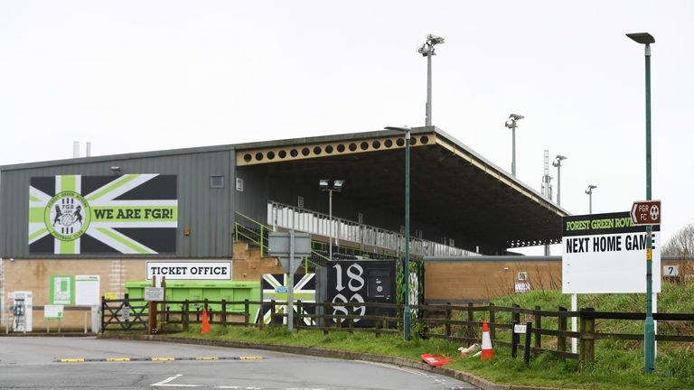 Forest Green Rovers became the world's first carbon-neutral sports club in 2017